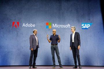 Adobe, Microsoft et SAP s'associent pour l'Open Data Initiative. Celui-ci permettra de combiner et d'exploiter les données respectives de leurs plateformes technologiques.