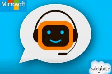 Les enseignes Salesforces et Microsoft, les leaders en ce qui concerne les chatbots, sont en compétition pour la première place sur ce marché.