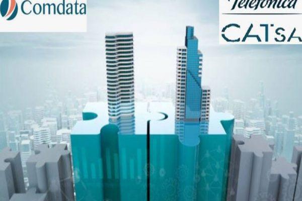 La firme ComData a décidé de faire l'acquisition de CATsa, qui est une des anciennes branches de Telefonica, pour être plus présent sur le marché hispanique.